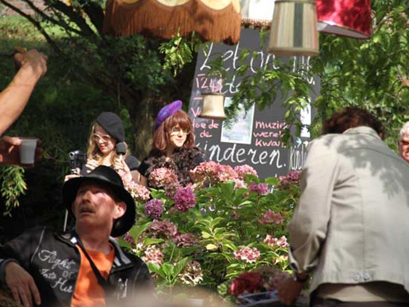 Vlearkunst / Open tuinen van Geerdink